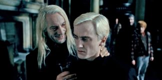 Malfoy, harry potter, jason isaacs, tom felton