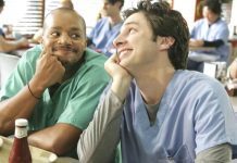 scrubs, turk, jd zach braff, donald faison, scrubs sequel