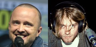 aaron paul kurt cobain nirvana