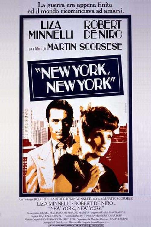 "Poster del Film ""New York, New York"""
