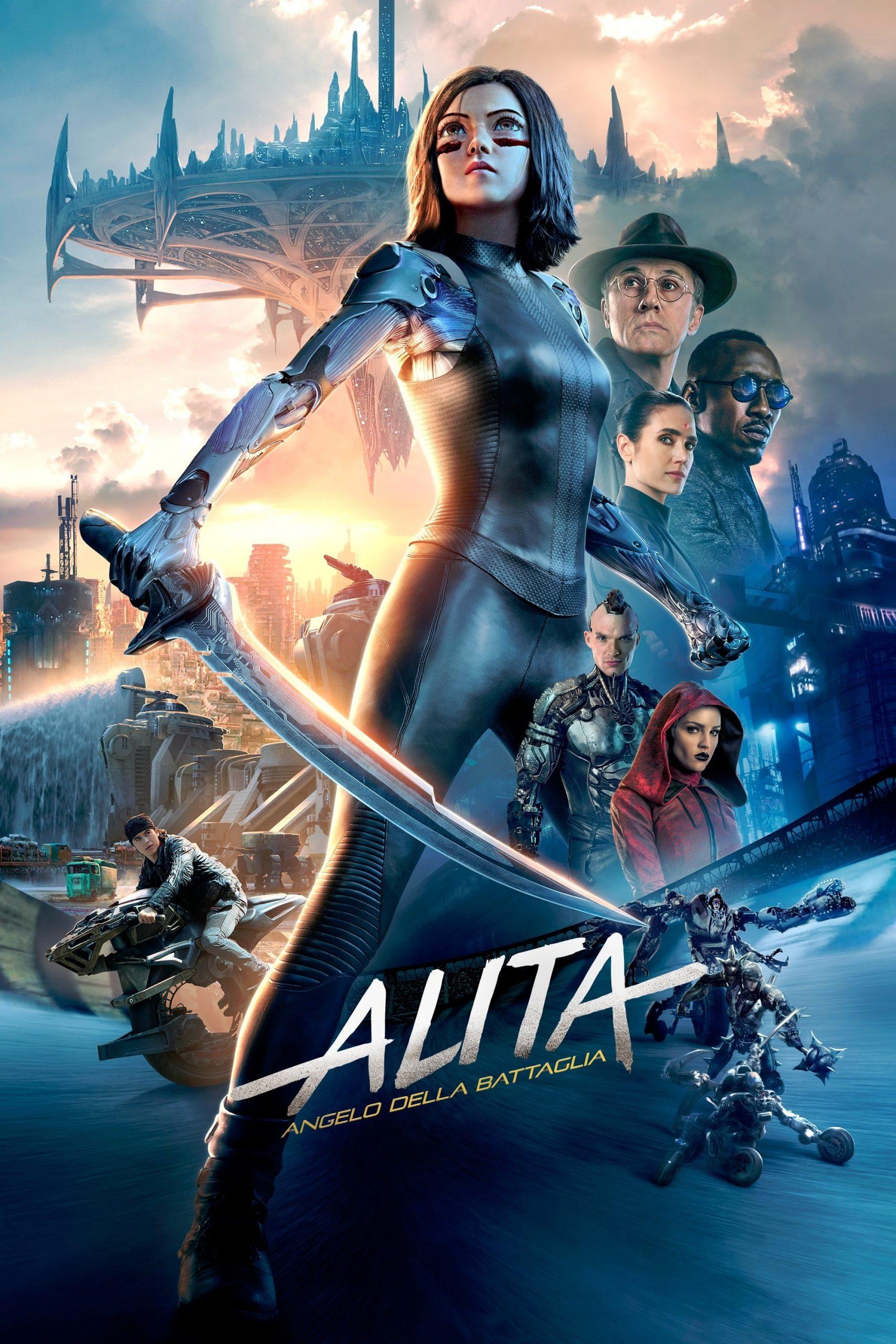 """Poster del Film """"Alita - Angelo della battaglia"""""""
