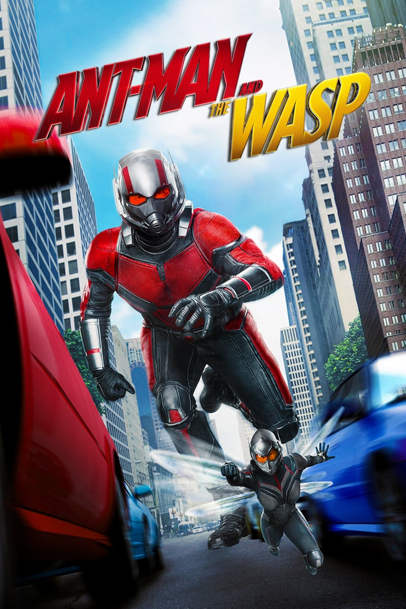 "Poster del Film ""Ant-Man and the Wasp"""