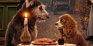 Lilli e il Vagabondo mangiano spaghetti
