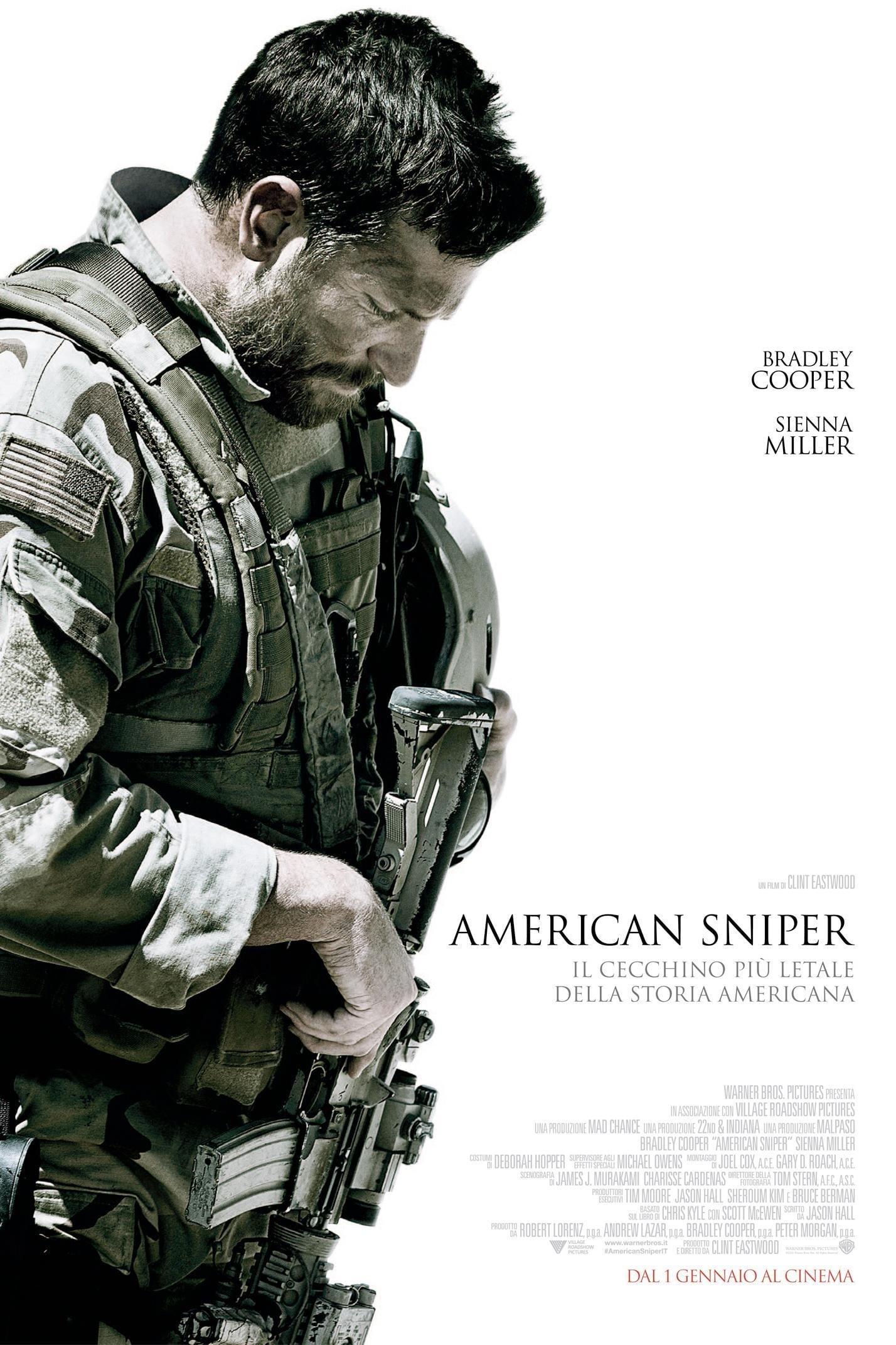"Poster del Film ""American Sniper"""