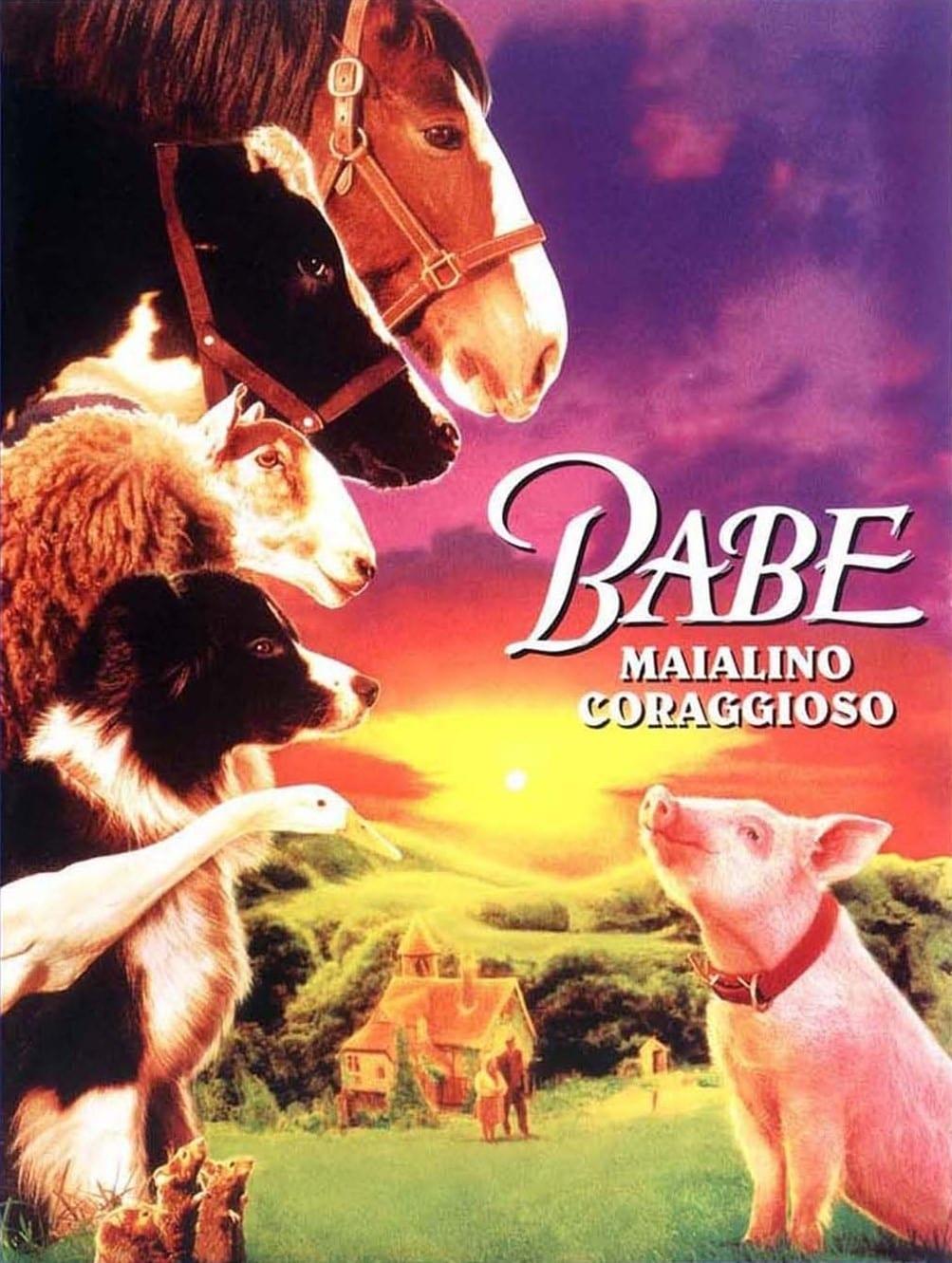 """Poster del Film """"Babe - Maialino coraggioso"""""""