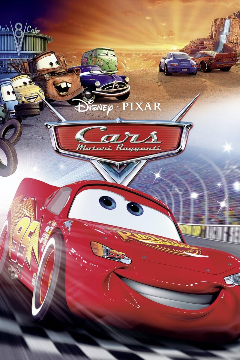 "Poster del Film ""Cars - Motori ruggenti"""