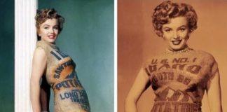 Marilyn Monroe nelle iconiche fotografie.
