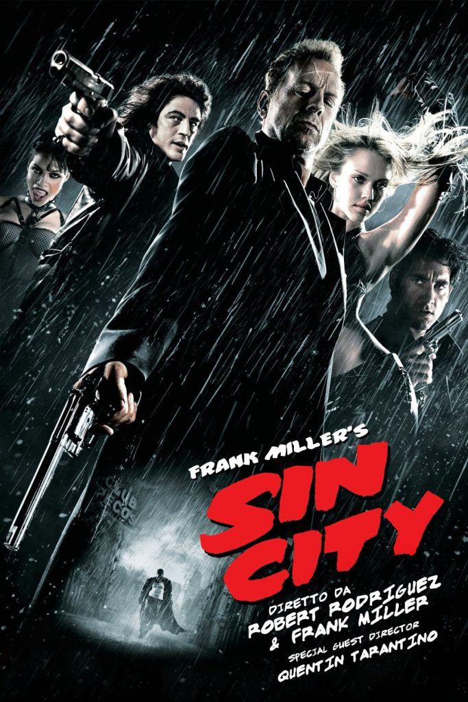 "Poster del Film ""Sin City"""