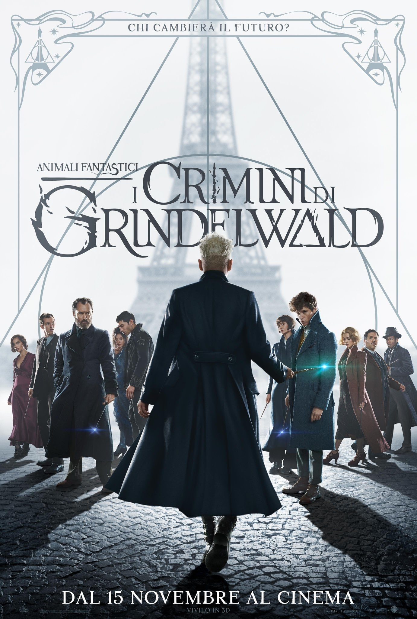 "Poster del Film ""Animali fantastici - I crimini di Grindelwald"""