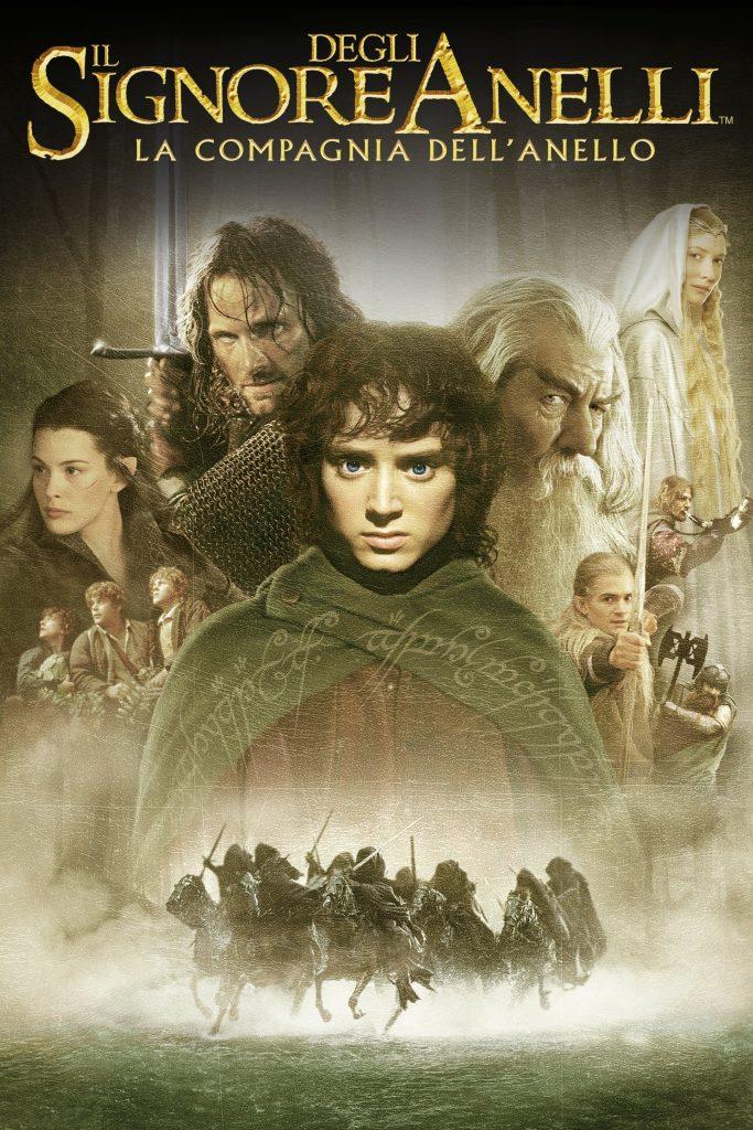 """Poster del Film """"Il Signore degli Anelli - La Compagnia dell'Anello"""""""