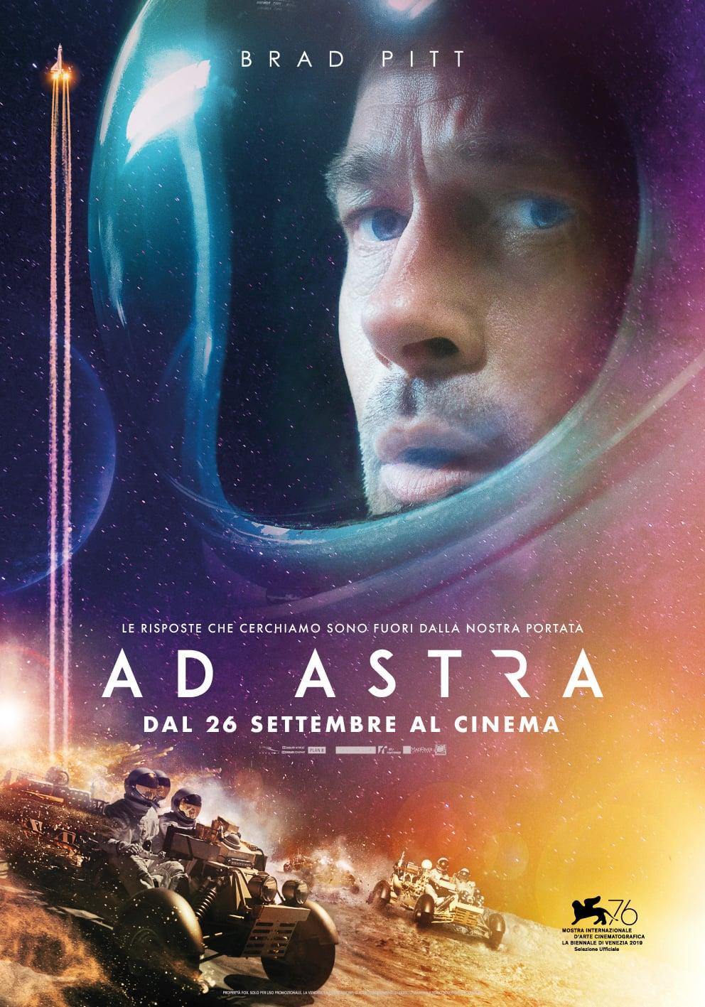 """Poster del Film """"Ad astra"""""""
