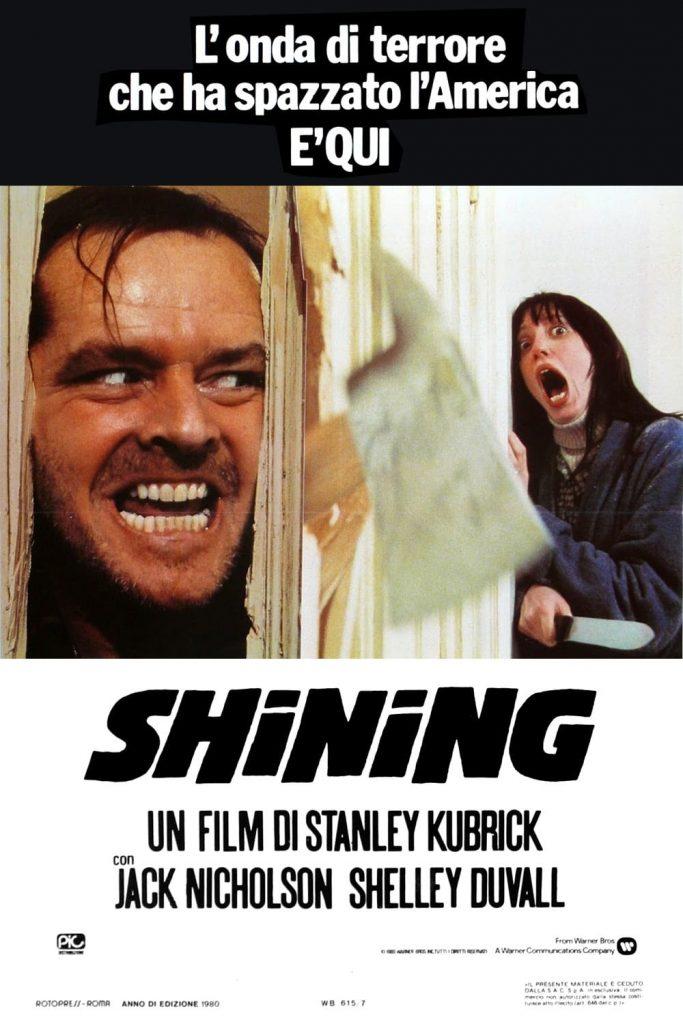 """Poster del Film """"Shining"""""""