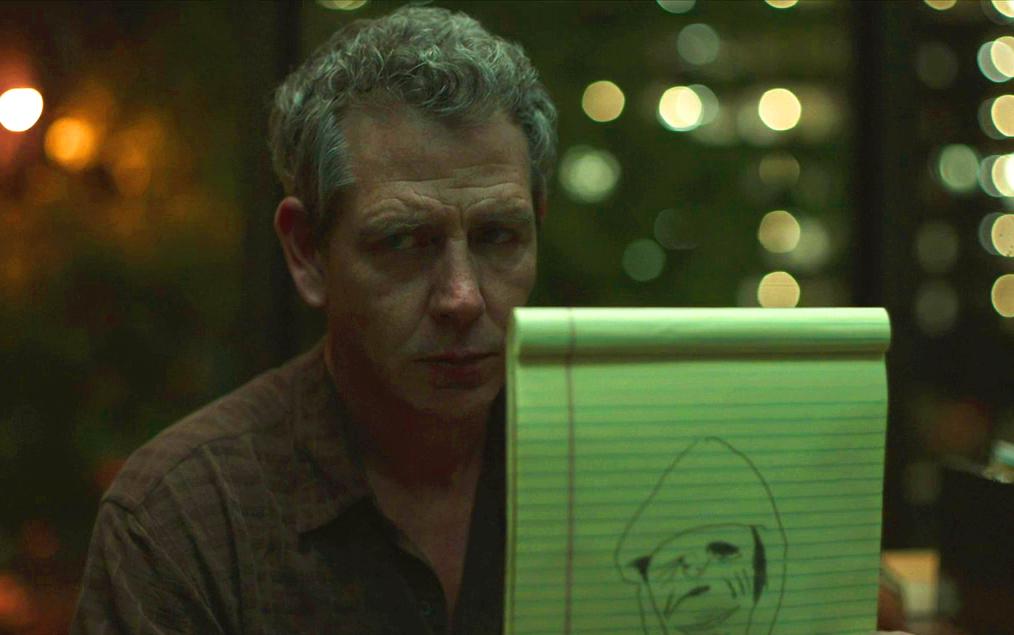 the outsider: l'uomo senza volto in un disegno nelle mani di Ralph