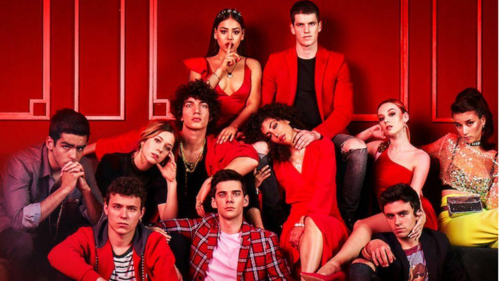 elite, immagine del cast seconda stagione