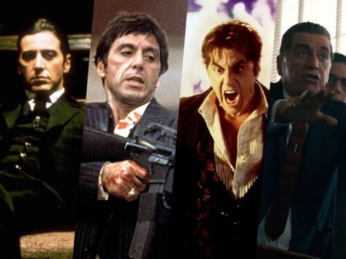 Al Pacino: migliori ruoli
