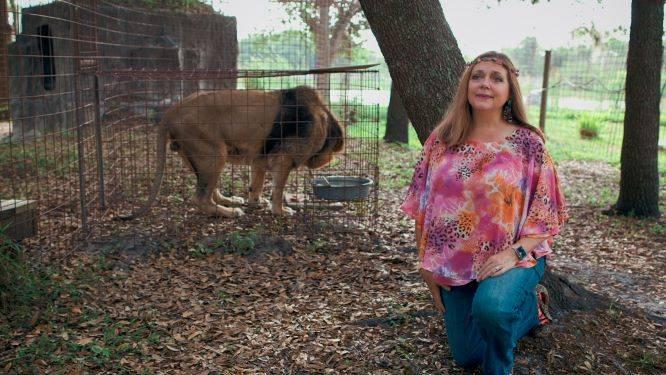 Tiger King: Carole Baskin nel suo santuario