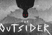 the outsider, particolare di copertina