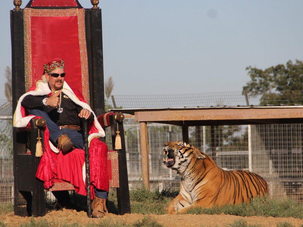 Tiger King: Joe Exotic e il suo trono