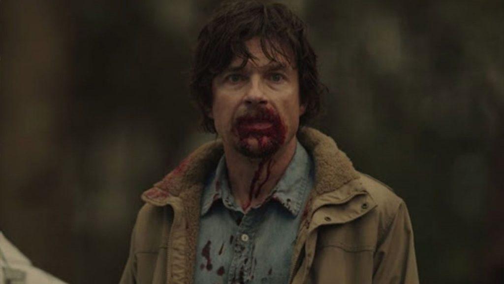 Terry Maitland nel primo episodio di The outsider