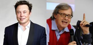 Elon Musk, Vittorio Sgarbi
