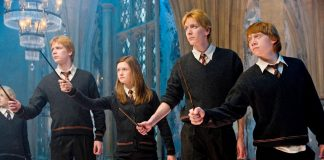 Fred,_George,Ginny_harry potter