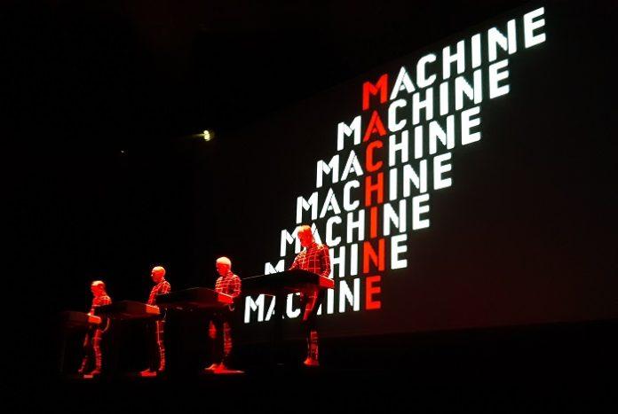 I Kraftwerk in un recente live a Parigi