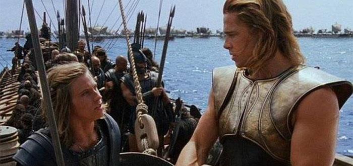 Patroclo e Achille in Troy