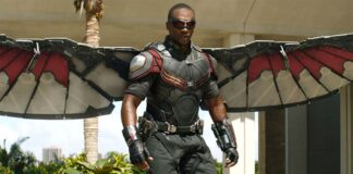 Anthony Mackie come The Falcon