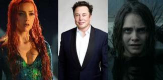 Amber Heard, Elon Musk, Cara delevingne