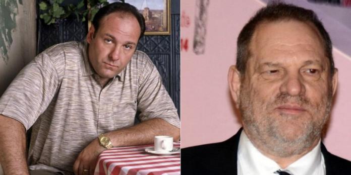 James Gandolfini, Harvey Weinstein