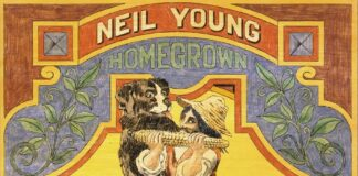 Neil Young: Copertina di Homegrown