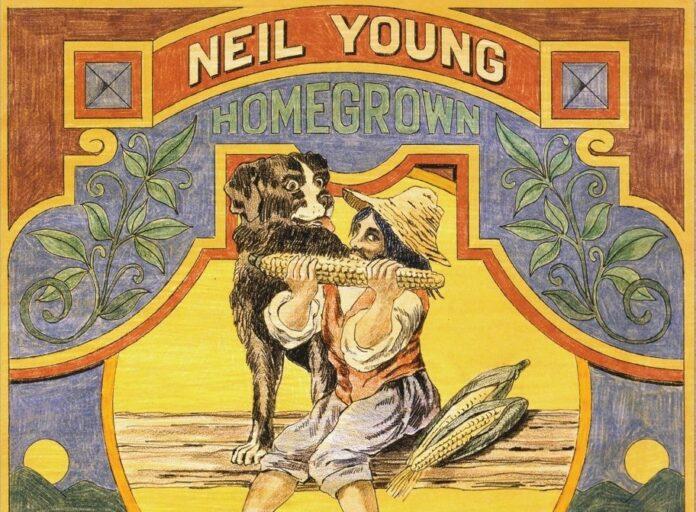 Neil Young: Copertina di Homegrown