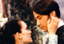 Keanu Reeves e Winona Ryder in Dracula