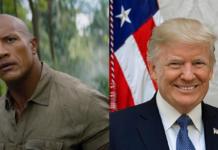 The Rock, Trump