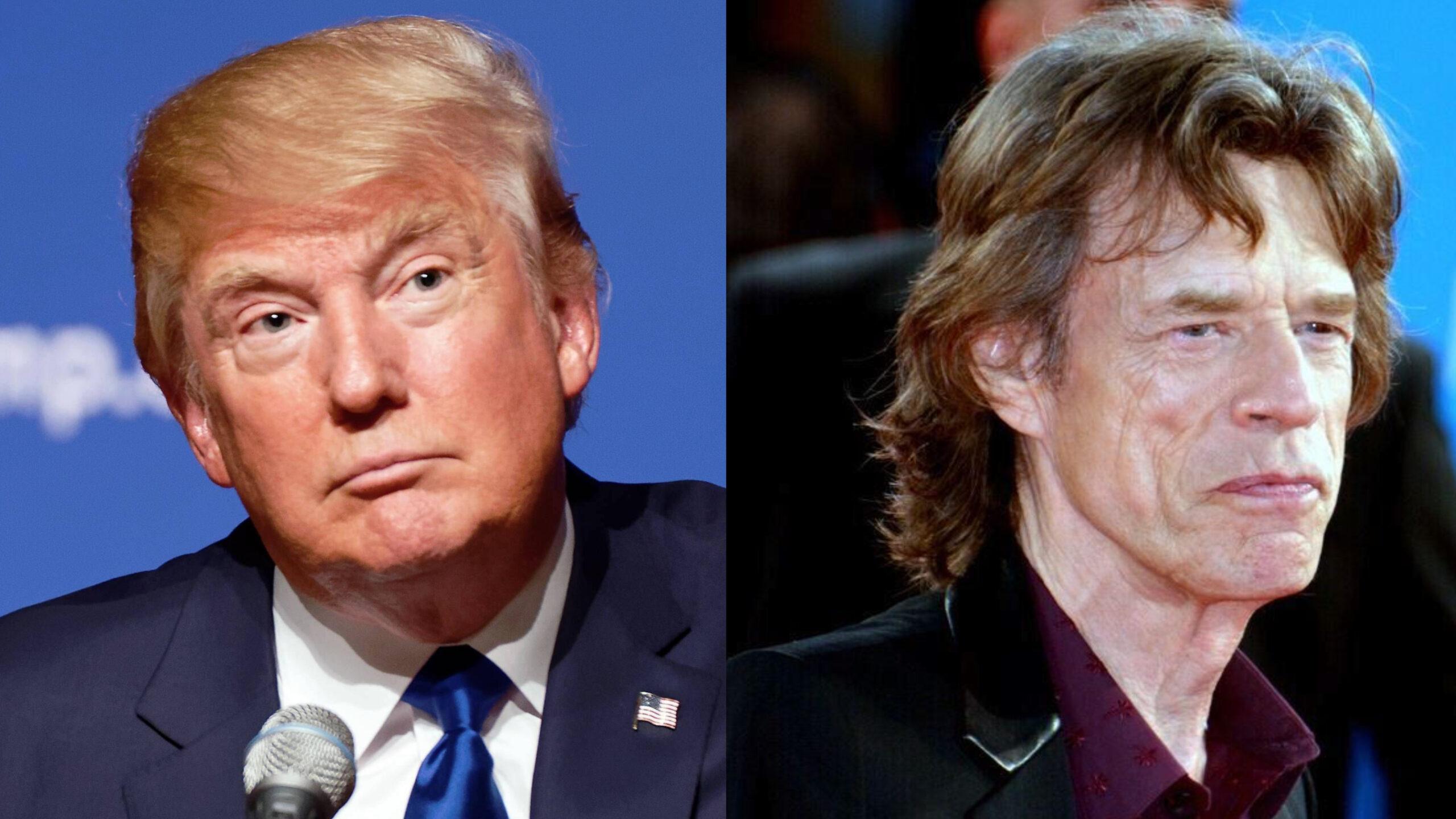 I Rolling Stones avvisano Trump: