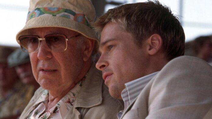 Carl Reiner e Brad Pitt