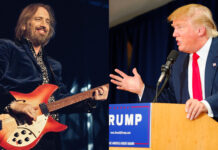 tom petty donald trump i wont back down