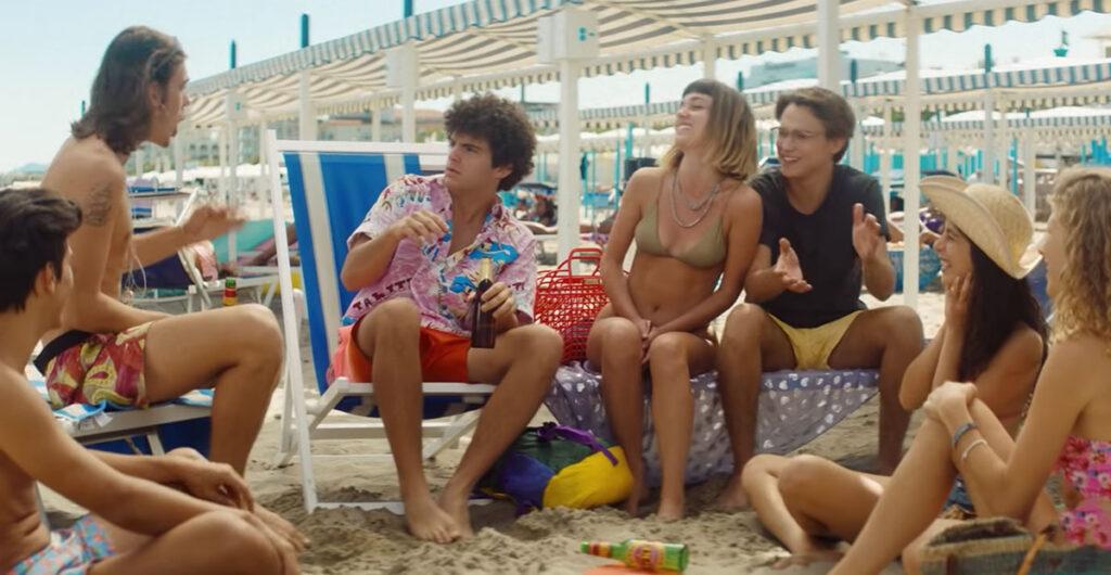 Sotto il Sole di Riccione: una scena del film.