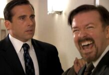 The Office Ricky Gervais Steve Carell