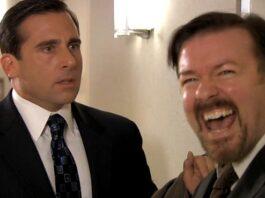 The Office Ricky Gervais Steve Carell
