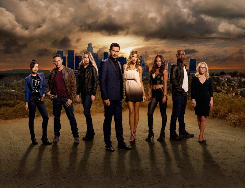 Lucifer, recensione della serie tv Netflix. Il cast principale