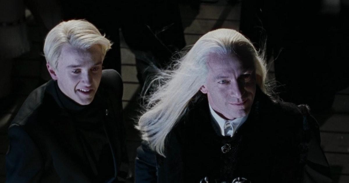 jason isaacs, lucius malfoy draco, harry potter