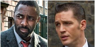 Tom Hardy, Idris Elba, inglese