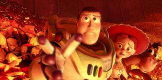 Toy story, giocattoli immortali, scena fuoco