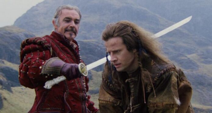 highlander, sean connery, cristopher lambert