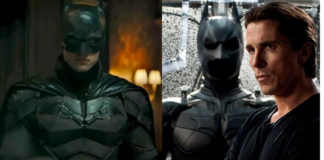 the batman, bale, pattinson
