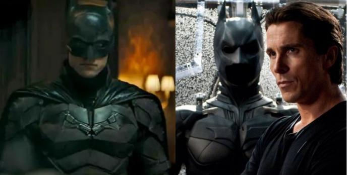 the batman, bale, pattinson