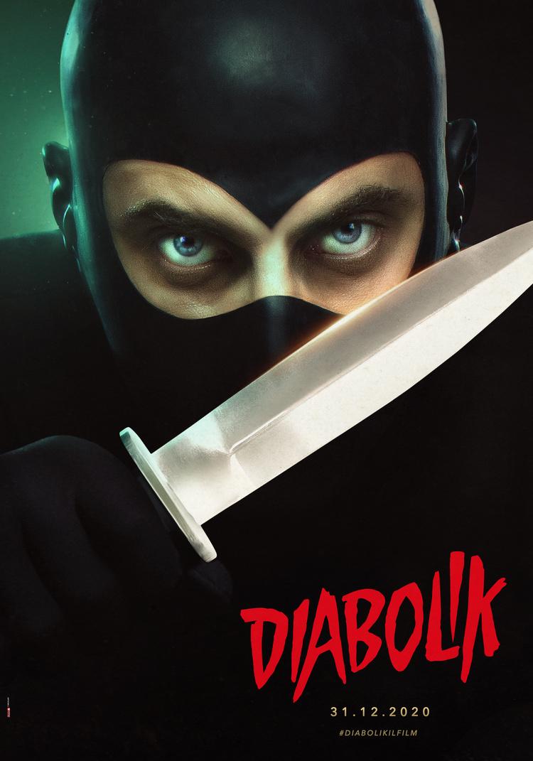Luca Marinelli, Diabolik, Character Poster