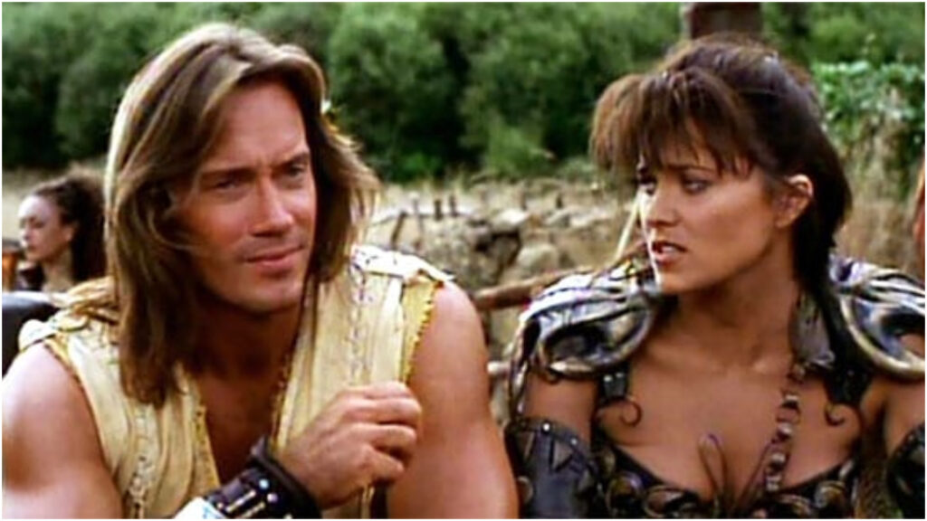 Kevin Sorbo Lucy Lawless