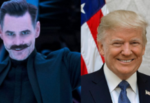 Jim Carrey, Donald Trump